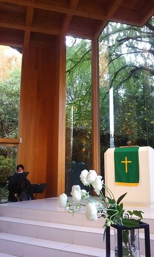 鶴見之森迎賓館の式場の画像