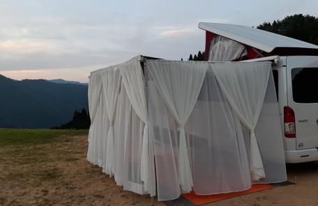 絶景マッサージ×おおやキャンプ場(絶景区画サイト)の画像