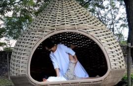 京丹後/丹後王国でボディケアマッサージをしている画像